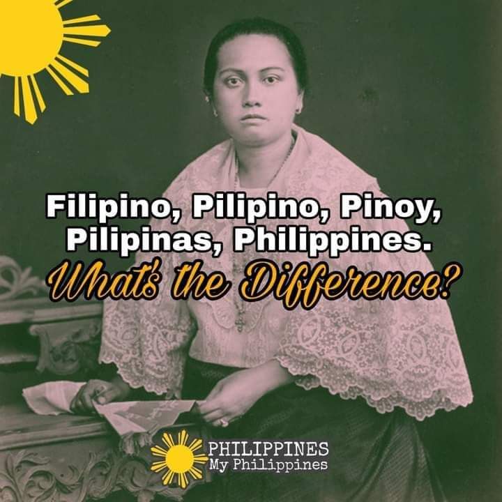 What Is the Difference Between Filipino, Pilipino, Pinoy, Pilipinas, and Philippines?
